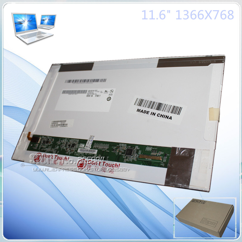 B116XW02 V.0 LP116WH1-TLC1 LTN116AT01 N116B6-L02/01 LAPTOP LCD EKRAN